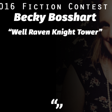 So to Speak Fiction Contest Results