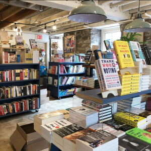 Old Town Books interior