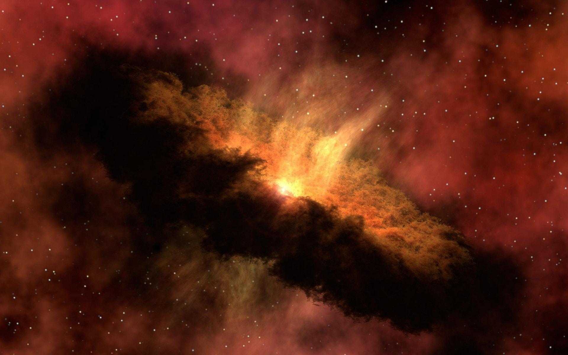 galaxy, red